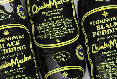 Stornoway Black Pudding PGI
